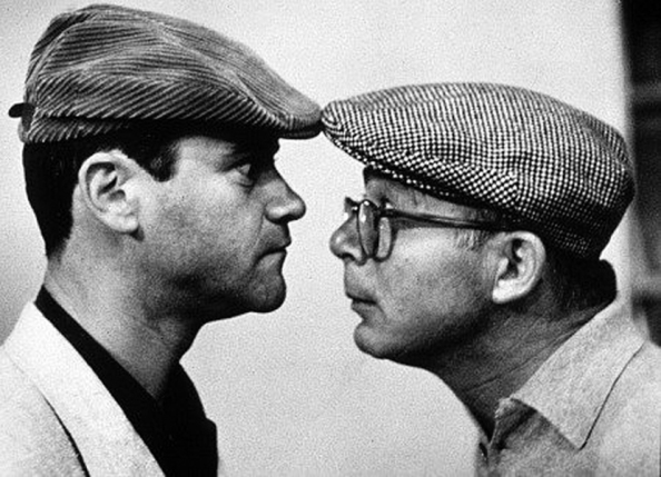 Billy-Wilder-and-Jack-Lemmon-The-Apartment